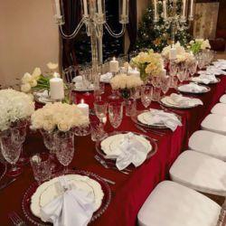 prestieranie na stôl na veľké svadby